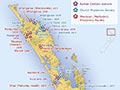 Mission stations to 1845, northern New Zealand